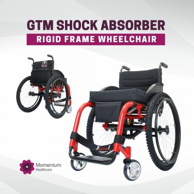 GTM Shock Absorber rigid frame wheelchair