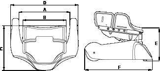 Krabat Pilot Dimensions