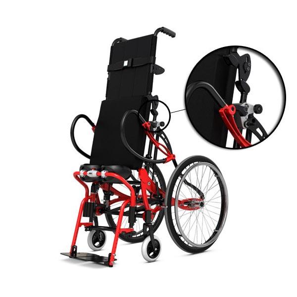 Lifestand LS Wheelchair Permobil Img02 – Easy Adjustments