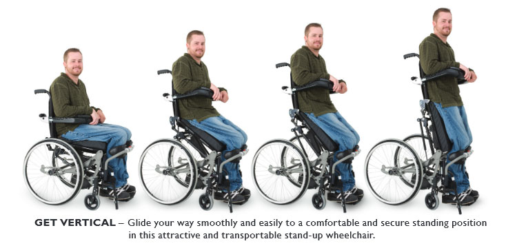 Lifestand LSE Permobil Wheelchair - Get Vertical