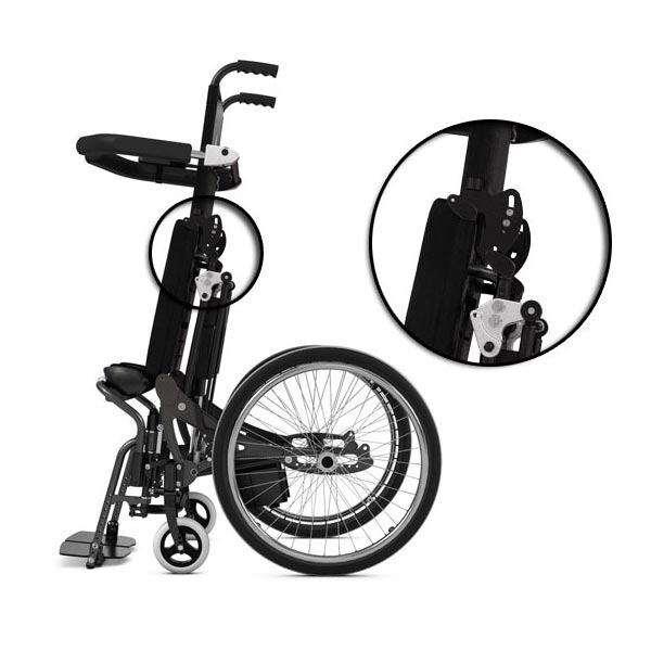 Lifestand LSE Wheelchair Permobil Img06 – Backrest Angle Adjustable