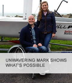 Unwavering Mark shows what's possible Featured
