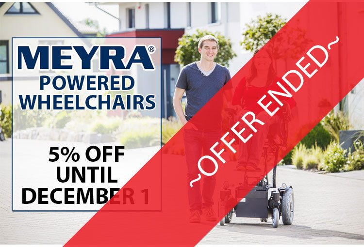 Discount Meyra Powered Wheelchairs Dec 2016 Offer Ended