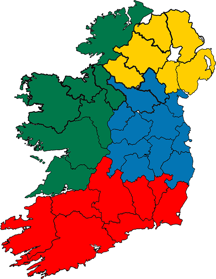 Momentum Healthcare Ireland Coverage Map