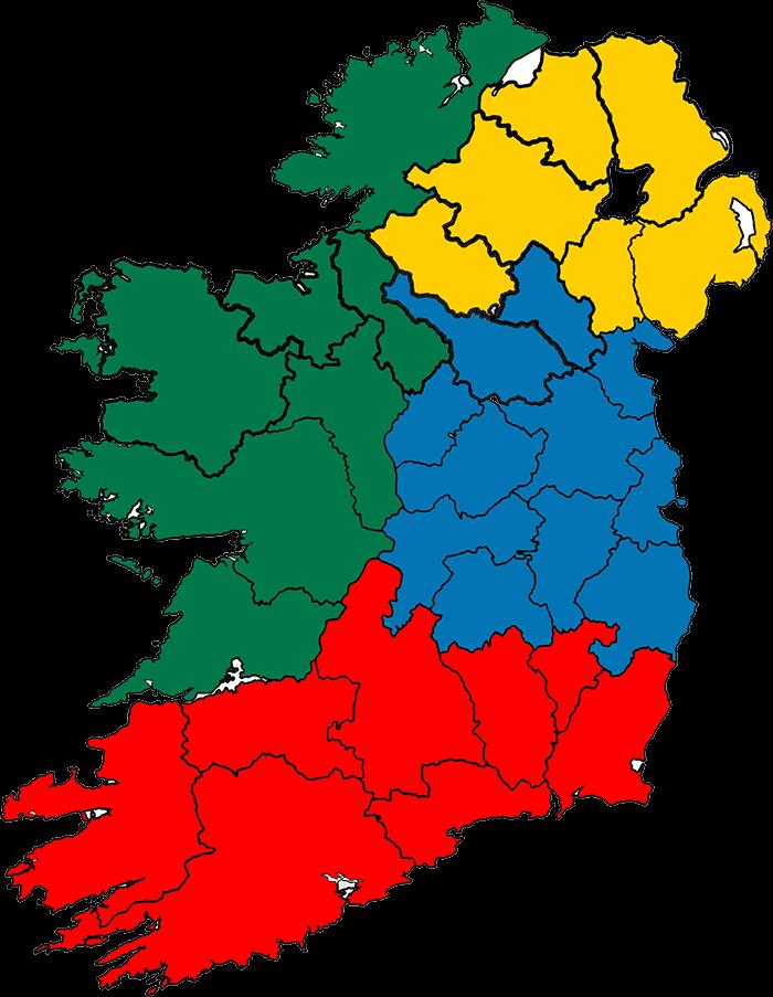 Momentum Healthcare Ireland Coverage Map