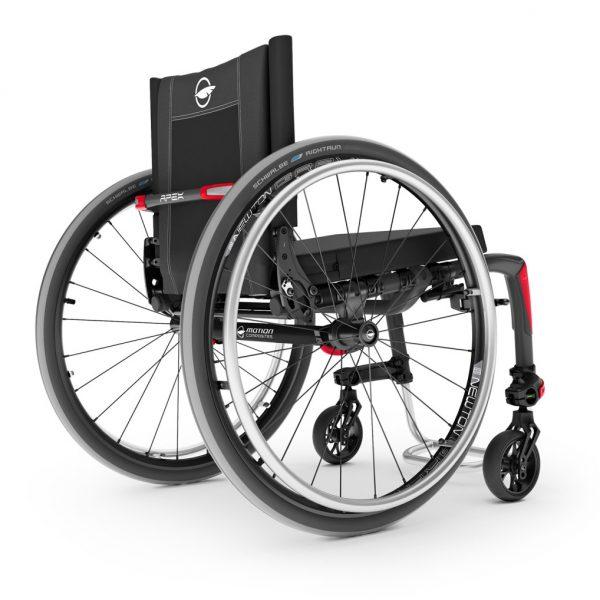 APEX wheelchair wins reddot design award Momentum Healthcare