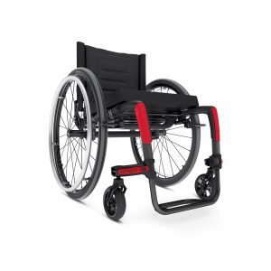 Rigid frame wheelchair