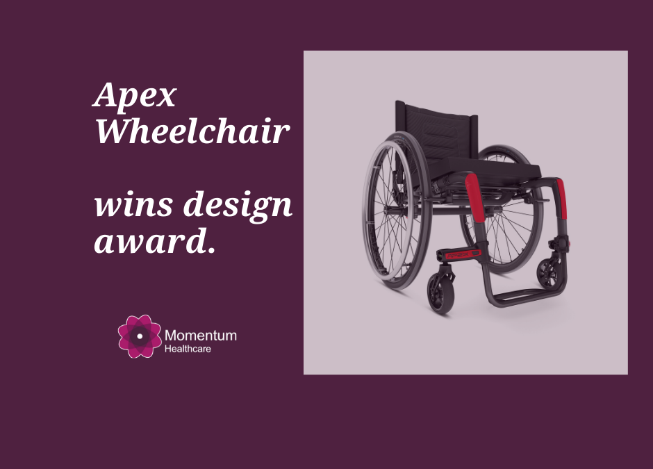 APEX wheelchair wins reddot design award