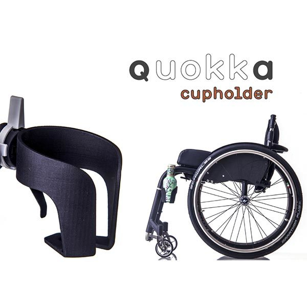 quokka wheelchair cup holder