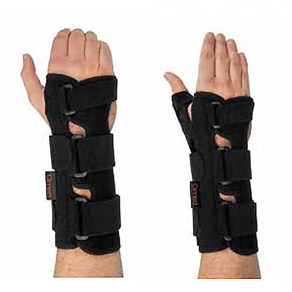 wrist orthosis with thumb support
