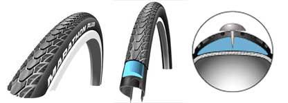 Marathon Plus Wheelchair tyre