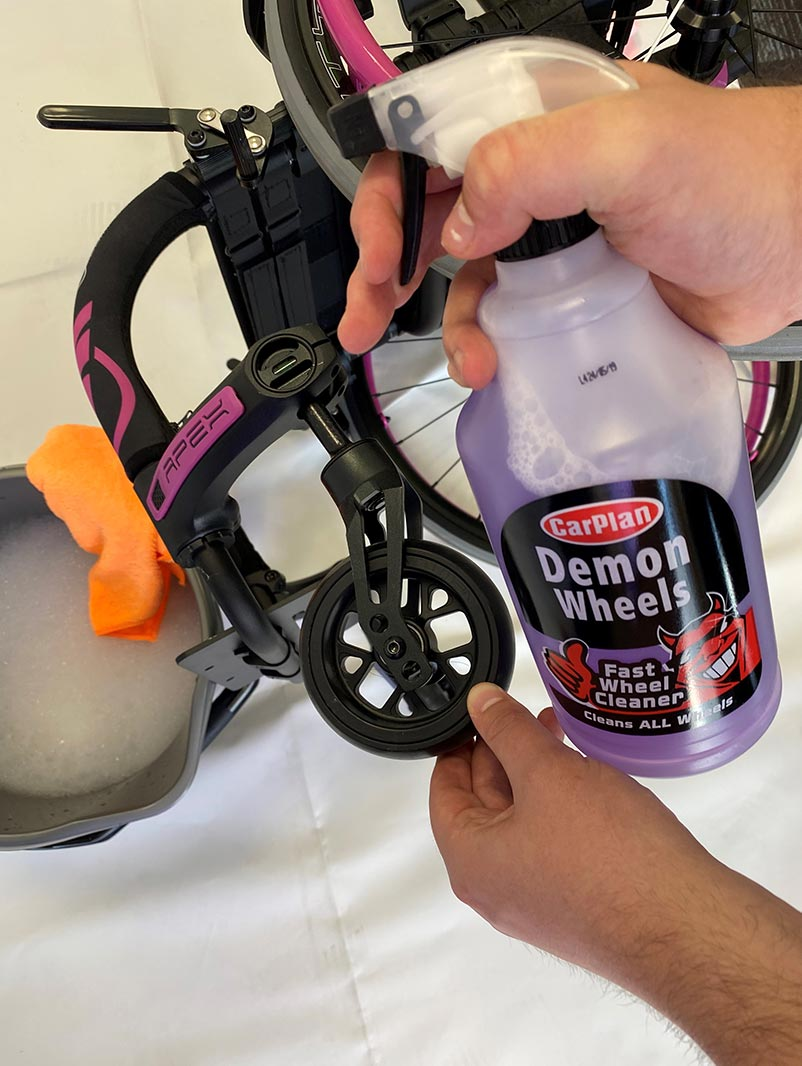 How to Clean a Wheelchair Momentum Healthcare