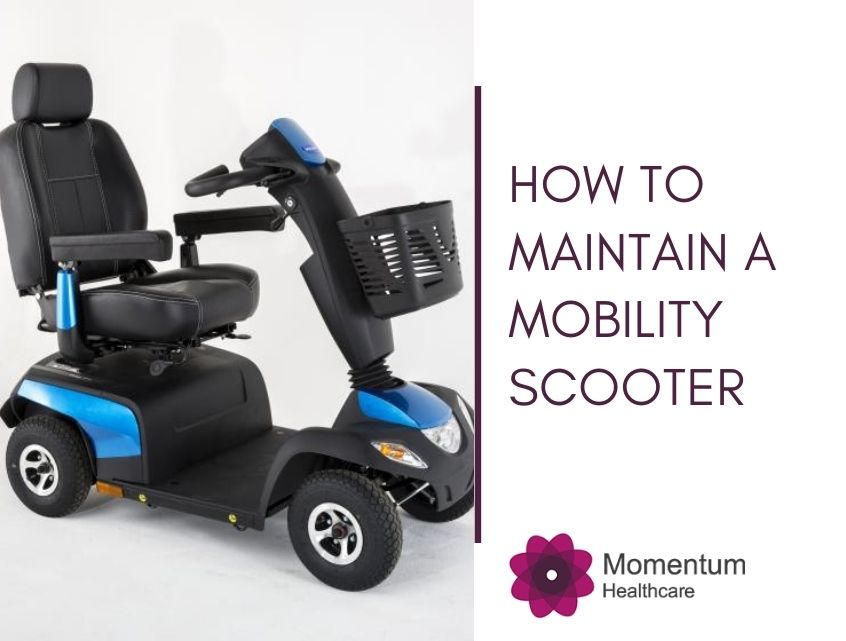 How to Maintain a Mobility Scooter